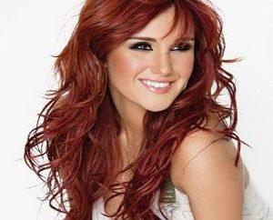 cor do cabelo vermelho: cor mágica