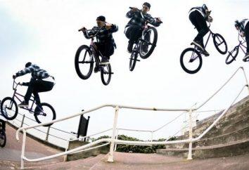 Les détails sur la façon de sauter sur un vélo
