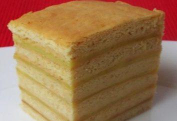 bolo de mel delicioso e delicado com creme: Receita
