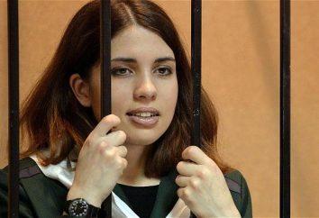 Biografie Hoffnung Tolokonnikova. Was Sie über die berüchtigte Gruppe Mitglied wissen