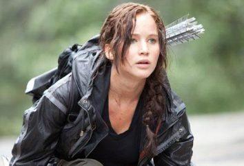 """Katniss Everdeen – um personagem fictício eo protagonista da trilogia """"The Hunger Games"""""""