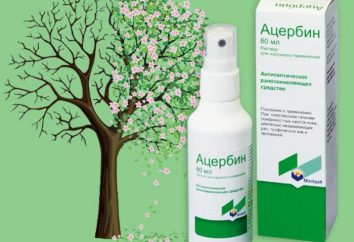 """""""Atserbin"""" (spray): instrukcje obsługi, wskazań, składu i opinie"""