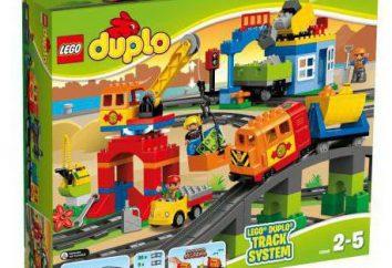 """Construtor para Lego Duplo 10508 crianças """"Big Train"""": descrição, foto"""