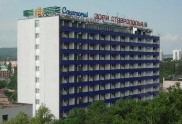 Sanatorium « Zori Stavropol « Pyatigorsk: avis, photos, contacts, informations pour les touristes