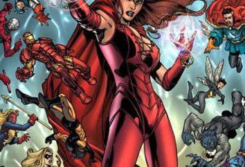 Biografie superbohaterów: Scarlet Witch. Aktorka Elisabeth Olsen