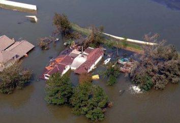 Hochwasser – ein natürliches Phänomen, manifestiert die nahe gelegenen Gebieten zu Überschwemmungen Stauseen