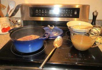 Come pulire piatto in ceramica di vetro? Mezzi per la pulizia lastre di vetro-ceramica
