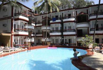 Hotel 3 * Santiago Resort, Índia, Goa, localização, comentários