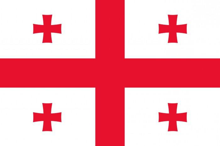 La Bandiera Rossa Con La Croce Rossa E Altri Panno Rosso La Storia