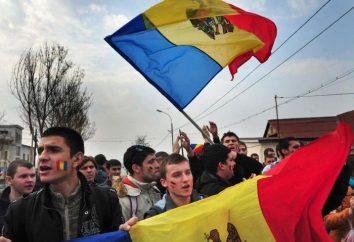 La composizione e la dimensione della popolazione della Moldavia. La popolazione della Moldavia per anno