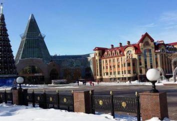 Die Bevölkerung des Khanty-Mansiysk, Beschreibung der Stadt, das Klima