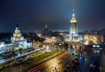 Area di tre stazioni di Mosca. Quali stazioni sono su di esso?