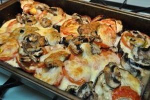 Lo hermoso y delicioso berenjenas al horno