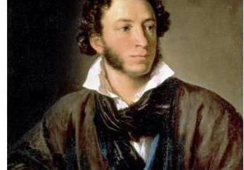 Descripción física de las pinturas de Pushkin y autorretratos
