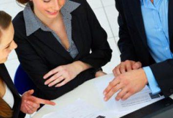 Deveres de um assistente de vendas. Para retomar e procura de emprego