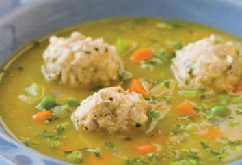 Zuppa di piselli con polpette: incredibilmente gustoso e sano
