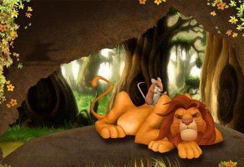 """Qual è il """"racconto del leone"""" che insegna al bambino?"""