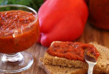 Adjika z papryki: receptur, składników, wskazówki gotowania