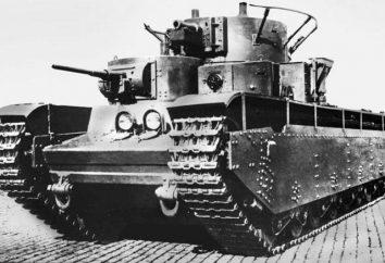 T-35: i dettagli tecnici, descrizione, foto