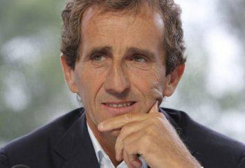 Francês corridas motorista Alain Prost: biografia, estatísticas e fatos interessantes