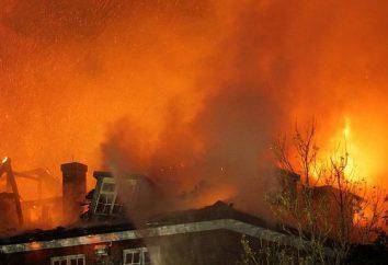 normas de seguridad contra incendios en la escuela. un plan de escape