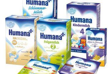 """Comida para bebé """"Humana"""": composição, instruções, revisões"""