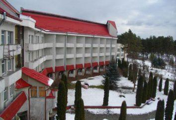 """sanatorium """""""" Chervona viburnum s.Zhobrin, région de Rivne: description, services et commentaires des touristes"""
