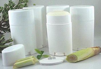 Desodorante para um adolescente: sem alumínio