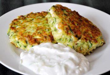 Come rendere frittelle di zucchine: ricetta