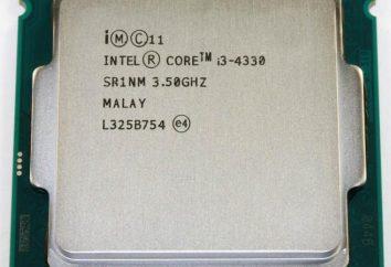 Intel Core i3 4330 funkcje procesora i opinie