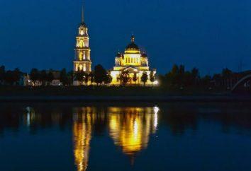 Rybinsk, Katedra Przemienienia: historia, opis cech architektury, adres