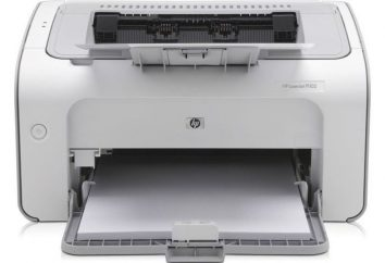 Drukarka laserowa HP LaserJet P1102: Opis, instrukcja, specyfikacje, recenzje