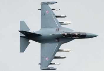 Yak-130: specifiche tecniche, la descrizione e revisione del sistema