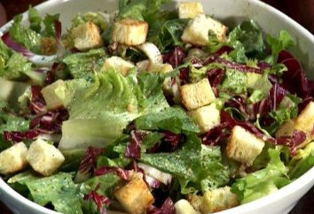 """Wie ein klassischen """"Caesar"""" Salat kochen"""