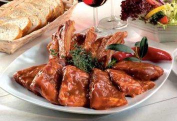 Les côtes de porc les plus délicieux au four avec des pommes de terre