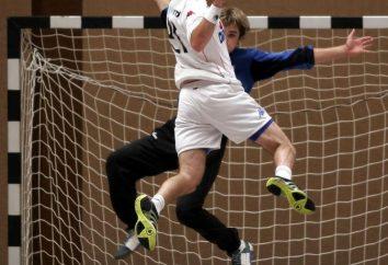 Règles de handball. Handball – règles du jeu. Combien de moitiés de handball?
