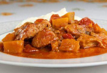 Carne de porco com abóbora: gourmet