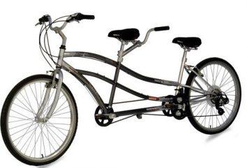 Podwójne rowery dla dzieci i dorosłych. Jaka jest nazwa Pokój Bike