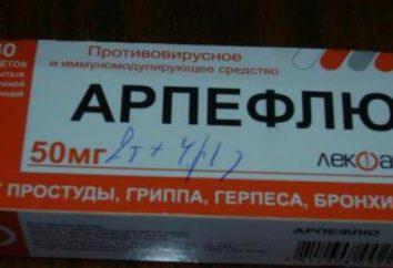 """Przygotowanie """"Arpeflyu"""": instrukcje użycia, skład, opis i recenzje"""