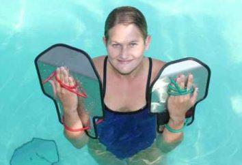Jak wybrać łopaty dla dzieci do pływania. Najlepsza łopatka do pływania