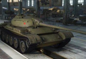T-54 leggera. Leggero carro armato T-54 – luce (al centro) del serbatoio in World of Tanks