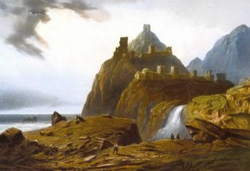 Teodosio, fortezza genovese. attrazioni Feodosia