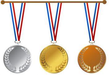 Quelle est la composition des médailles olympiques?