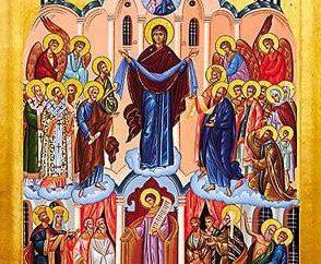 Troparion der Heiligen Jungfrau und dem Fest, nach dem es ausgeführt wird,