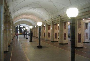 """stacja metro Moskwa """"Semenovskaya"""""""