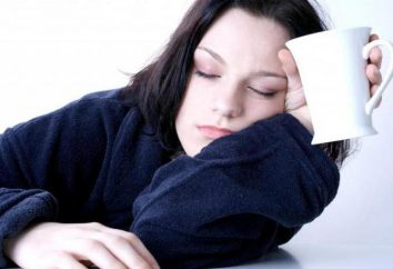 La debilidad en el cuerpo: las razones. recomendaciones hechas