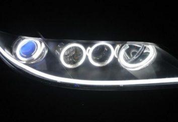 lâmpadas fluorescentes carro. Características, comentários motoristas