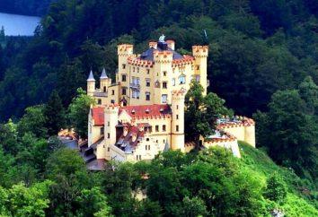 Château Hohenschwangau. Château en Bavière, Allemagne