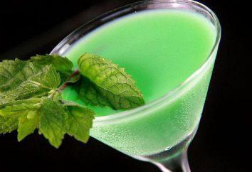 """Cocktail """"Gafanhoto"""": a suavidade do sabor e cor incrível"""