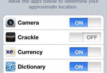 Como desativar serviços de localização no iPhone: dicas, conselhos, instrução